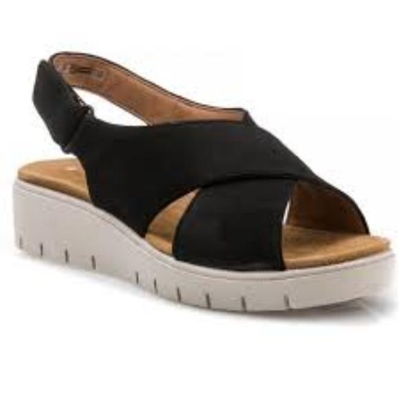 Clarks Un Karely Sun sandals Black